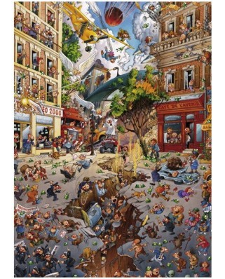Puzzle Heye - Loup Jean-Jacques: Apocalypse, 2.000 piese (40806)