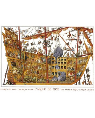 Puzzle Heye - Loup Jean-Jacques: Noah's Arch, 2000 piese (246)