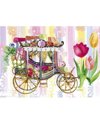Puzzle Heye - Lovely Times, Carriage, 1.000 piese (57736)