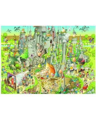 Puzzle Heye - Marino Degano: Jurassic Habitat, 1.000 piese (51837)