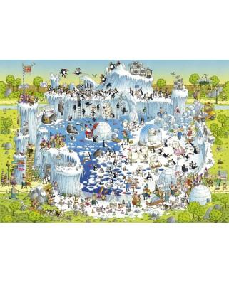 Puzzle Heye - Marino Degano: Polar Habitat, 1000 piese (51784)