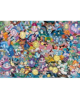 Puzzle Heye - Masquerade, 1.000 piese (57745)