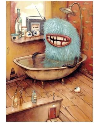 Puzzle Heye - Mateo Dineen: Bathtub, 1000 piese (40855)