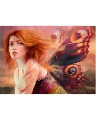 Puzzle Heye - Melanie Delon: Butterfly Wings, 1.000 piese (43646)