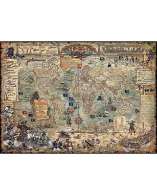 Puzzle Heye - Pirate World, 2.000 piese (65189)