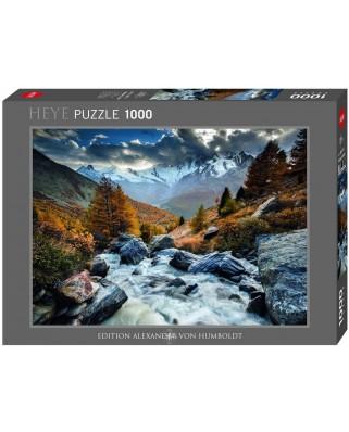 Puzzle Heye - Rafael Rojas: Mountain Stream, 1.000 piese (51791)