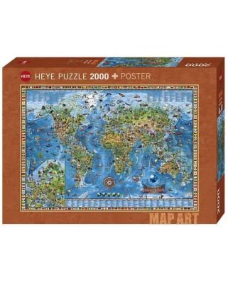 Puzzle Heye - Rajko Zigic: Amazing World, 2.000 piese (63228)