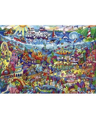 Puzzle Heye - Rita Berman: Magic Sea, 1000 piese (63223)