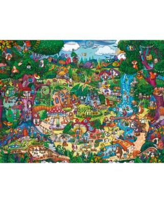 Puzzle Heye - Rita Berman: Magical Forest, 1.500 piese (57748)