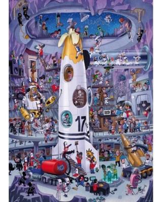 Puzzle Heye - Rocket Launch, 1000 piese (57746)
