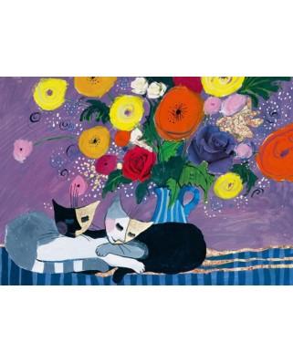Puzzle Heye - Rosina Wachtmeister: Sleep Well!, 1.000 piese (61432)
