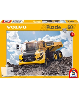 Puzzle Schmidt - Volvo A30G, 60 piese (56285)