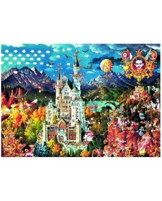 Puzzle Heye - Ryba Michael: Bavaria, 2000 piese (49493)