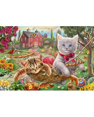 Puzzle Schmidt - Kittens In The Garden, 150 piese (56289)