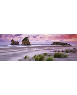 Puzzle panoramic Heye - Frank Krahmer: Wharariki Beach, 1000 piese (63204)