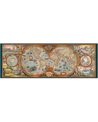 Puzzle panoramic Heye - Rajko Zigic: Hemisphere Map, 6.000 piese (43620)