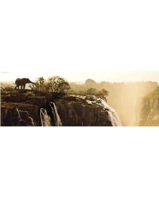 Puzzle panoramic Heye - Von Humboldt Alexander: Alexander von Humboldt : Elephant, 1.000 piese (5070)