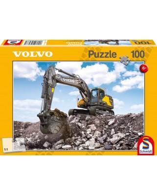 Puzzle Schmidt - Volvo EC380E, 100 piese (56286)