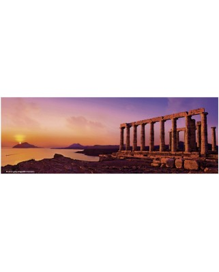 Puzzle panoramic Heye - Von Humboldt Alexander: Bill Heinson: The Temple of Poseidon, 75 piese (41207)