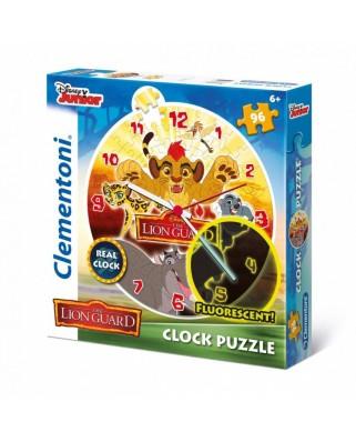 Puzzle ceas Clementoni - The Lion Guard, 96 piese (57115)