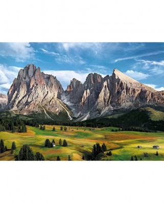 Puzzle Clementoni - Alps, 1.000 piese (62405)