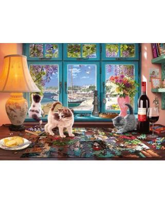 Puzzle Schmidt - Puzzlers Desk, 1.000 piese (58344)