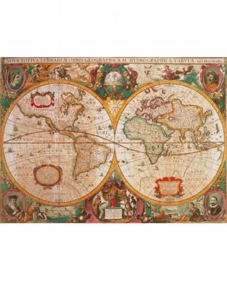 Puzzle Clementoni - Ancient Map, 1.000 piese (648)