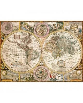 Puzzle Clementoni - Ancient World Map, 3000 piese (3557)