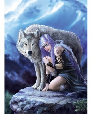 Puzzle Clementoni - Anne Stokes: Protector, 1000 piese (62433)