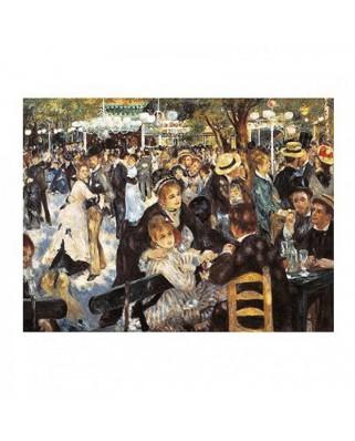 Puzzle Clementoni - Auguste Renoir: Bal du Moulin de la Galette, 1.000 piese (295)