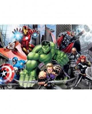 Puzzle Clementoni - Avengers, 104 piese XXL (51439)