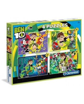 Puzzle Clementoni - Ben 10, 20, 20, 60 and 60 piese (62341)