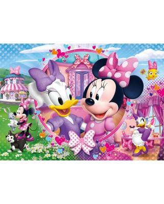 Puzzle Clementoni - Brilliant Puzzle - Minnie, 104 piese (65222)