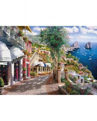 Puzzle Clementoni - Capri, Italy, 1.000 piese (41470)