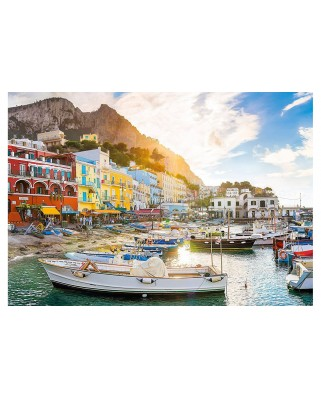 Puzzle Clementoni - Capri, Italy, 1.500 piese (60870)