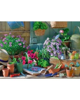 Puzzle Schmidt - At The Garden Table, 1.000 piese (58313)