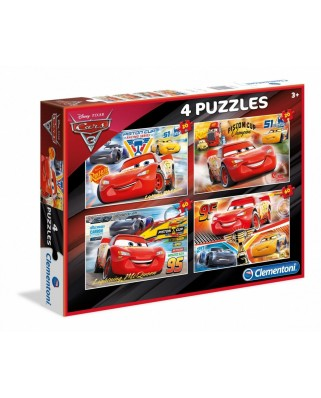 Puzzle Clementoni - Cars 3, 20, 20, 60 and 60 piese (60756)