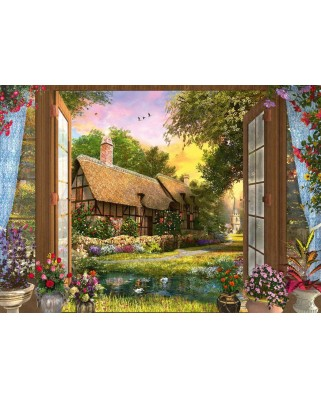Puzzle Schmidt - View Of The Cottage, 1.000 piese (59591)