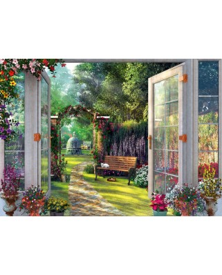 Puzzle Schmidt - View Of The Enchanted Garden, 1.000 piese (59592)