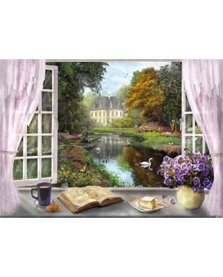 Puzzle Schmidt - View Of The Castle Gardens, 1.000 piese (59590)