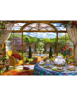 Puzzle Schmidt - View From The Conservatory, 1.000 piese (59593)
