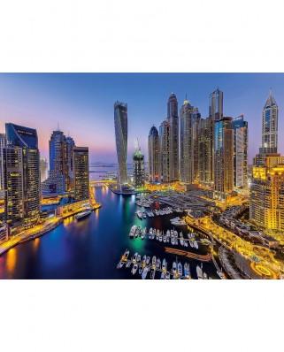 Puzzle Clementoni - Dubai, 1.000 piese (60903)