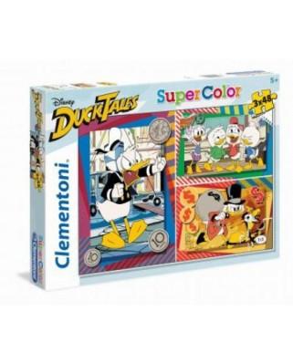 Puzzle Clementoni - Duck Tales, 3x48 piese (62376)