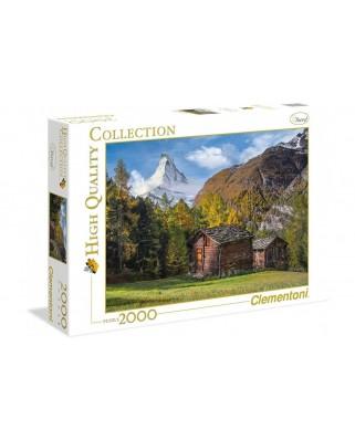 Puzzle Clementoni - Fascinating Matterhorn, 2000 piese (65261)