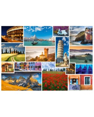 Puzzle Schmidt - Take A Trip To... Italy, 1.000 piese (58339)