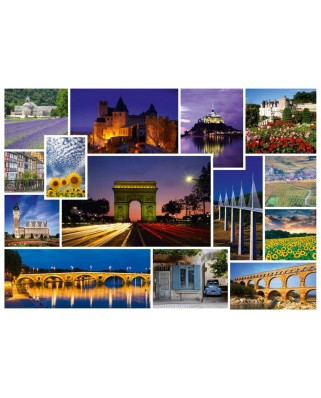 Puzzle Schmidt - Take A Trip To... France, 1.000 piese (58340)