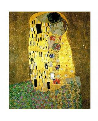 Puzzle Clementoni - Gustav Klimt: The Kiss, 1000 piese (346)