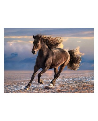 Puzzle Clementoni - Horse in Freedom, 1.000 piese (62321)