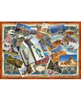 Puzzle Schmidt - Greetings From Around The World, 1.500 piese (58343)