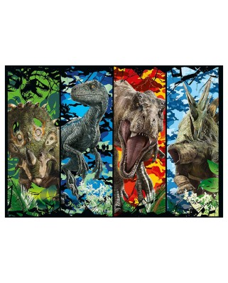 Puzzle Clementoni - Jurassic World, 104 piese (65238)